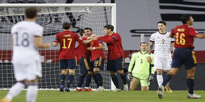 Laga Lanjutan UEFA Nations League : Jerman Dibantai Spanyol 0-6
