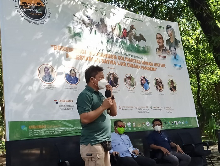 World Wildlife Day di Makassar Dihelat di Taman Macan